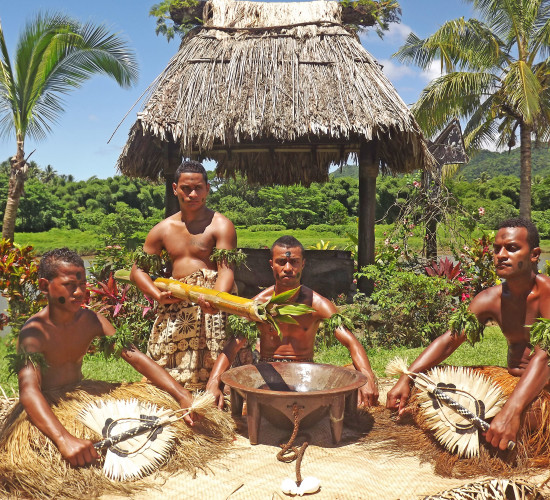 Witness a Kava Ceremony only performed to high chiefs or very important guests